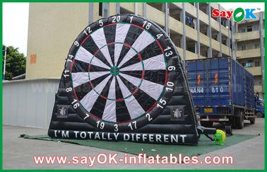 China Pvc-Spelen van Geteerd zeildoek de Opblaasbare Sporten, Douane die Inflatables-Dartboard adverteren leverancier