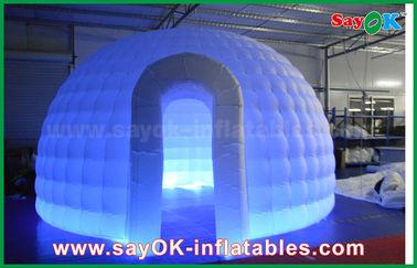 China 210D van de de Doek Opblaasbare Iglo van Oxford de Luchttent om Koepeltent met LEIDEN Licht leverancier