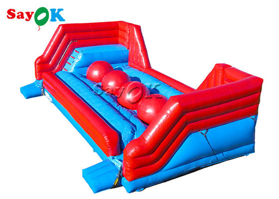Big Baller Wipeout Course Inflatable Sports Games For Family Center