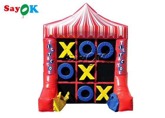 2x1.5x2.4m Portable 4 Spot Tic Tac Toe Inflatable Sport Games