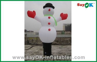 Custom Inflatable Holiday Decorations Inflatable Snowman With CE RoHS
