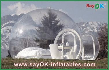 China Grote Openlucht Opblaasbare Tentbel Transparante Opblaasbare het Kamperen Tent voor de Mens 2 leverancier