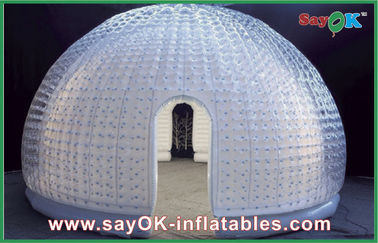 8 Person Vinyl Inflatable Air Tent Dome Inflatable Bubble Tent For Entertainment