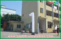 China De openingsceremonie Opblaasbare Dansers snakken het Dansen Inflatables Wit fabriek