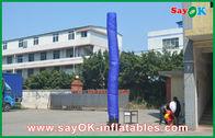 China Blauwe Opblaasbare de Hemeldanser van de Kerellucht met het Huwelijksgebruik van de Bodemventilator fabriek