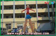 China De rode Dansers die van de Beeldverhaal Adverterende Lucht Aantrekkelijke 5m Hoog voor Supermarkt drukken fabriek