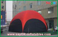 China Rood Hexagon Groot Openlucht Opblaasbaar de Tentpvc van 3M voor Roeping bedrijf