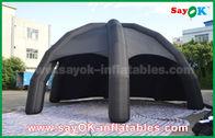 Zwarte Opblaasbare de Luchttent van pvc/de Spintent van de Reclamekoepel met Ventilator