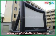 China Reus 10 ml x 7 MH-Certificaat van het Schermce/SGS van TV van de Projectiedoek Opblaasbaar fabriek