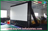 China 7mLx4mH het opblaasbare Materiaal van pvc van het Filmscherm met Kader voor Projectie fabriek
