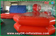 China Rode van de het Waterpool van pvc Opblaasbare de Lucht Strakke Zwemmende Vijver voor Kinderen het Spelen fabriek