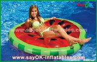 China Geel/Rood/van de de Poolvlotter van de Fruitplak Ruw Opblaasbaar de Poolspeelgoed voor het Zwemmen fabriek