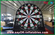 China Zwarte Opblaasbare Sportenspelen/Aangepast Opblaasbaar het Voetbaldartboard van pvc fabriek