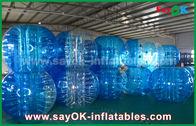China Duurzame Opblaasbare Sportenspelen/Transparante Opblaasbare de Bellenbal van pvc TPU fabriek