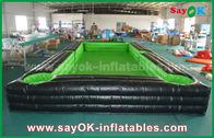 China Draagbare Reus buiten pvc-Geteerd zeildoek Opblaasbaar Voetbal/pingponghof met Ce-Ventilator fabriek