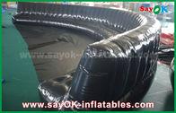 China Milieuvriendelijke Douane Opblaasbare Producten 6 - 10m-de Zwarte verzegelde 0.6mm hermetisch de Opblaasbare Bank van pvc fabriek