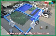 China De duurzame speelplaats van de Geteerd zeildoek Opblaasbare voetbal, Draagbaar Opblaasbaar Voetbalgebied fabriek