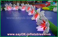 China 8m Lange Nylon Opblaasbare de Leliebloem Chai van de Verlichtingsdecoratie voor Huwelijk fabriek