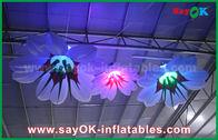 China 1m Dia Opblaasbare Hangende Leliebloem met RGB Verlichtingsdecoratie fabriek