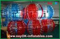 China De transparante van de het Voetbalbel van pvc/van TPU Opblaasbare Menselijke Bal voor Volwassene/Jong geitje fabriek