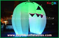 Van Goede Kwaliteit Opblaasbare Luchttent & Leuke Opblaasbare Vakantiedecoratie die Spookdeur/Grote Opblaasbare Pompoen aansteken te koop