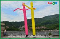Van Goede Kwaliteit Opblaasbare Luchttent & Van de de Buismens van vakantiedecoratie Rode/Gele Opblaasbare Commerciële Dansende de Luchtmens te koop
