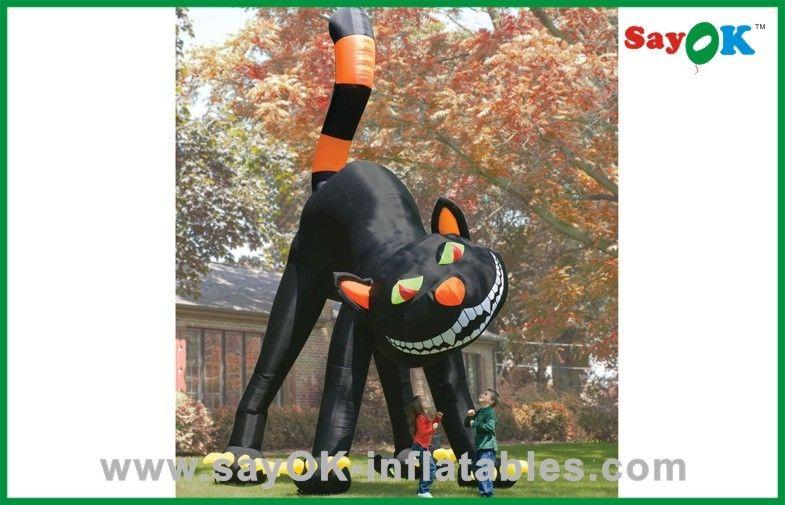 Hallo Halloween Decoraties : Halloween decoratie van de katten de opblaasbare vakantie