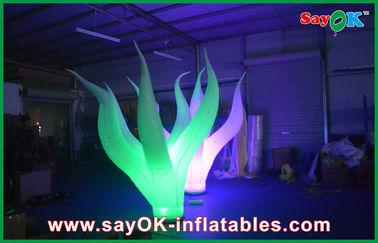 Geleide Duurzame Opblaasbare Verlichtingsdecoratie 3m Aantrekkelijk op Vloer