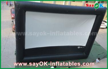 Opblaasbare luchtbioskoop, het Openlucht Reuze Opblaasbare Filmscherm voor Reclame/Vermaak