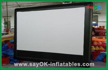 Het opblaasbare Commerciële Opblaasbare de Filmscherm Met groot scherm van het Bioskoopscherm