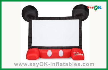 Het grappige van het de Filmscherm van Jonge geitjesdisney Opblaasbare Mobiele Opblaasbare de Projectorscherm