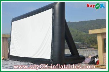 Scherm 6 x 3m Ce van TV van de projectiedoek het Opblaasbare/SGS Certificaat