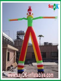 Aarde-vriendschappelijke Opblaasbare Luchtdanser, wind-Bestand Opblaasbare Golvende Mens